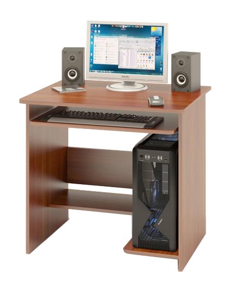 Компьютерный стол СОКОЛ КСТ-01.1 80x60x74, испанский орех