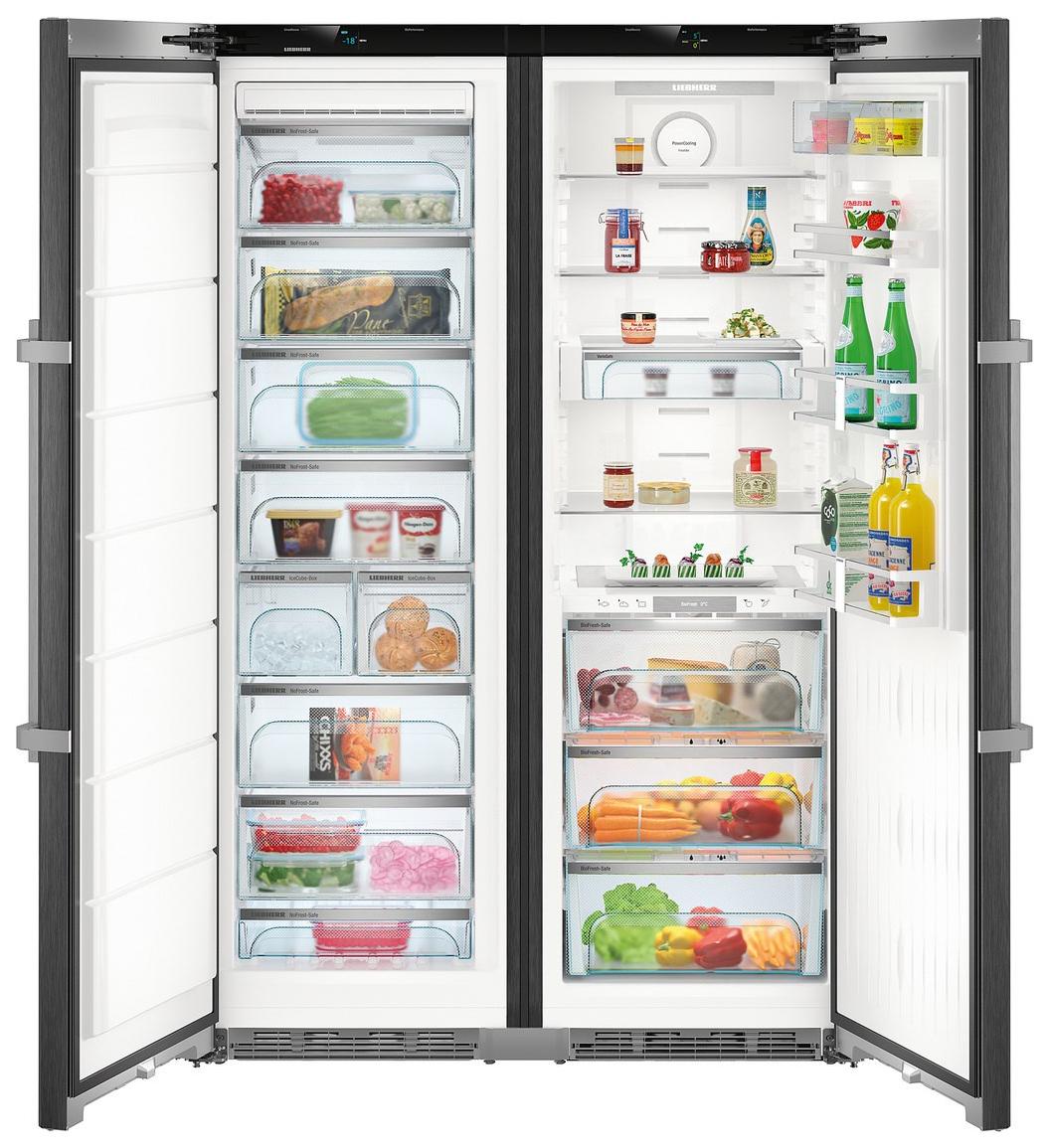 Холодильник Liebherr SBSBS 8673 Grey