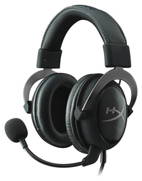 Игровые наушники HyperX Cloud II HyperX Cloud II Silver/Black фото