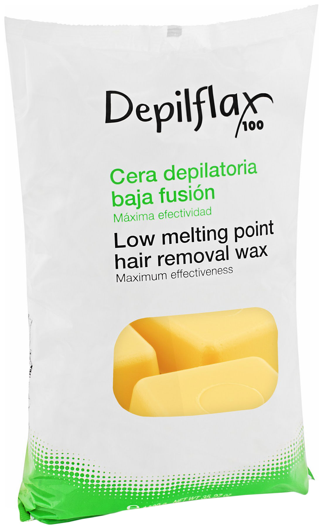 Воск для депиляции Depilflax Натуральный 1 кг