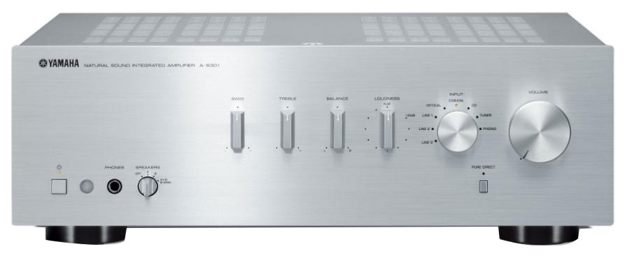 Интегральный усилитель Yamaha A-S301 Silver AAS301SI