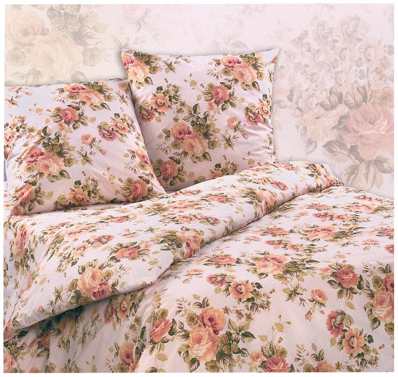 Комплект постельного белья Экзотика чайная роза полутораспальный фото