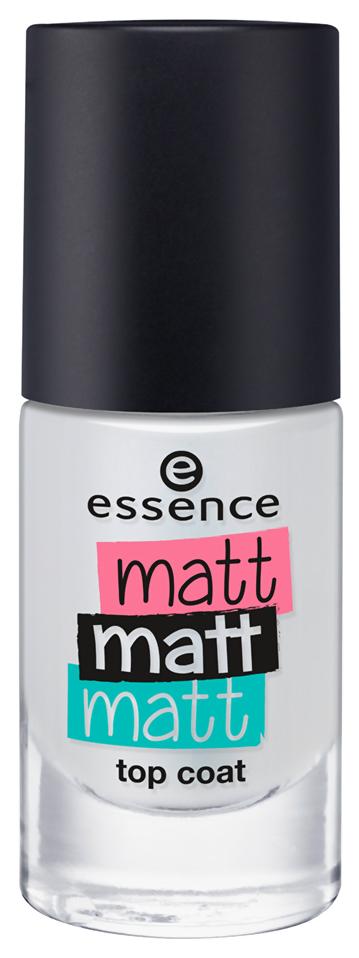Закрепитель лака для ногтей essence Matt Matt Matt Top Coat 8 мл фото