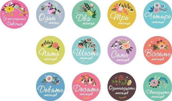 Купить Stick n Click Набор стикеров для девочек Цветы жизни, Stick'n Click, Аксессуары для детской комнаты