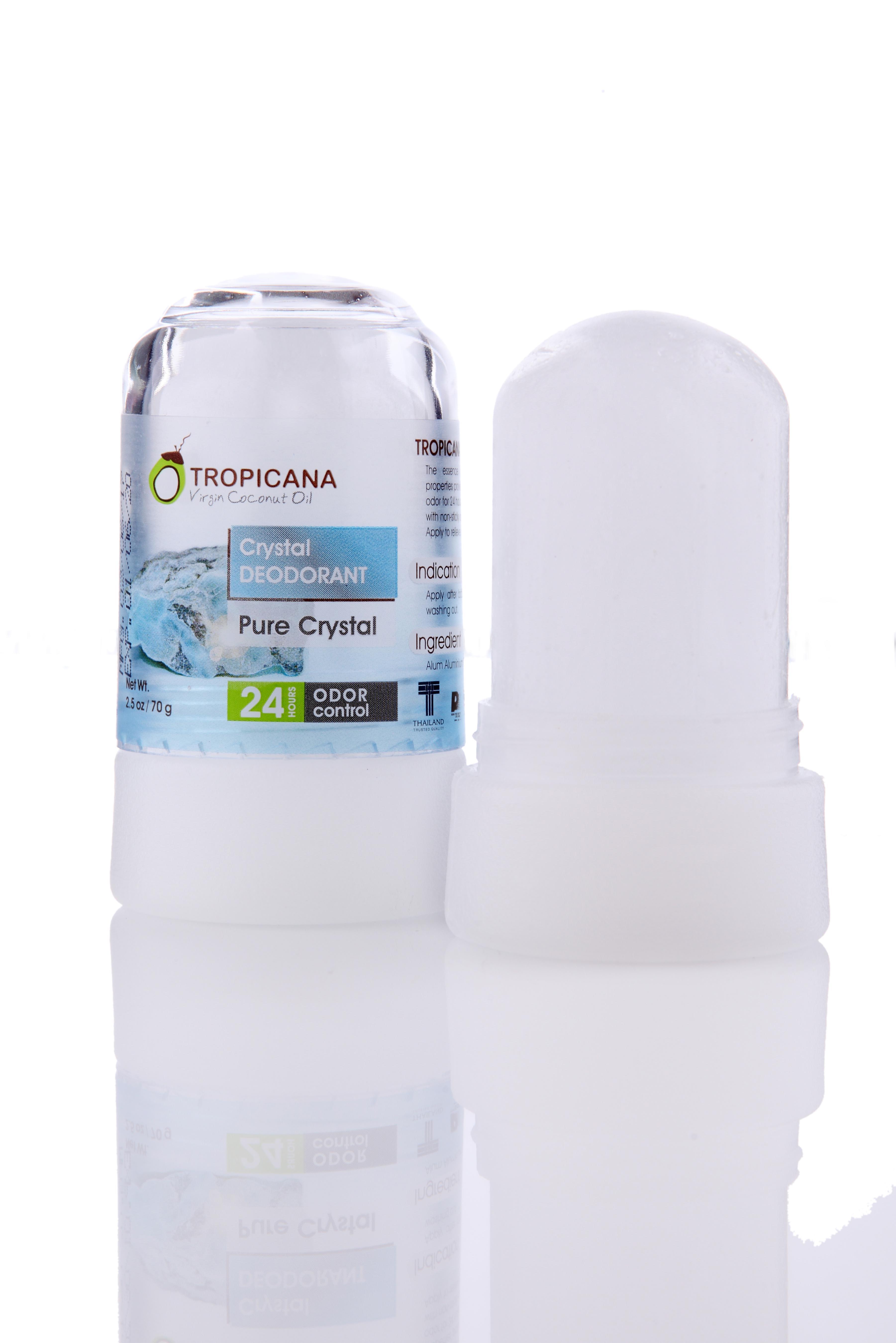 Натуральный дезодорант кристалл Tropicana \'Чистый кристалл\', 70 гр