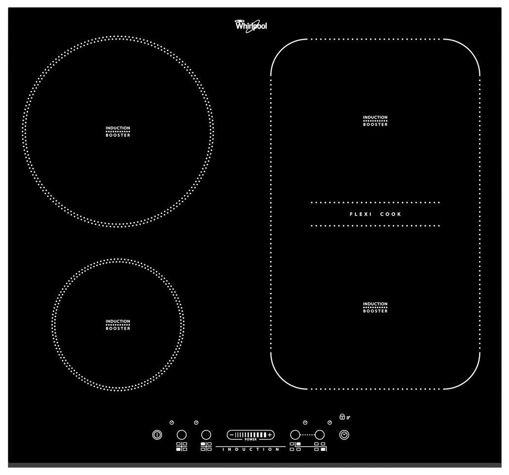Встраиваемая варочная панель индукционная Whirlpool ACM 810/BF