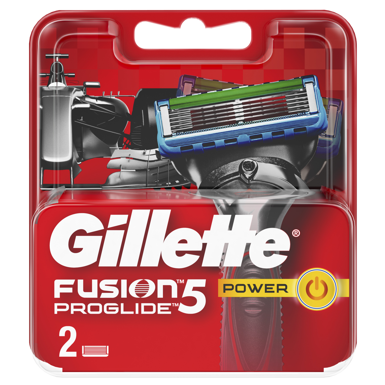 Сменные кассеты Gillette Fusion5 ProGlide Power 2 шт