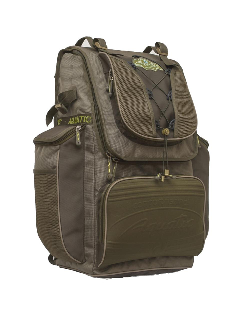 Рюкзак рыболовный Aquatic Р-65 коричневый 65 л фото