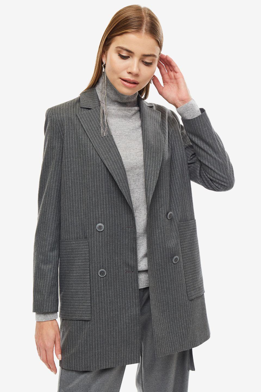 Пиджак женский URBAN TIGER серый