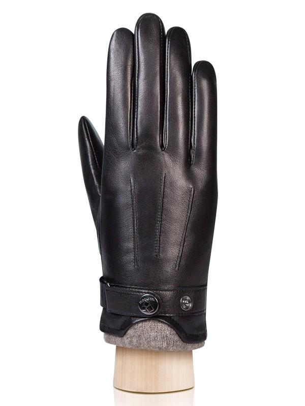 Перчатки мужские Eleganzza IS8708 черные 8 фото