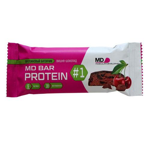 MD BAR protein 50 гр. со вкусом вишня