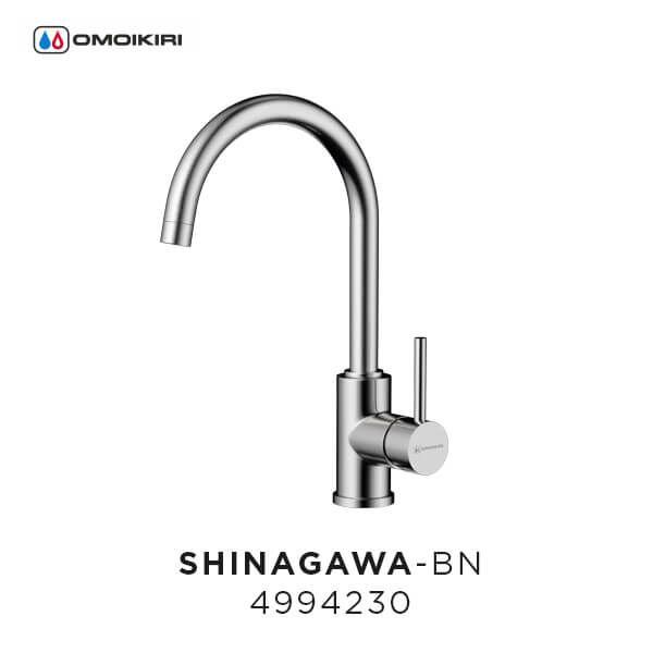 Смеситель OMOIKIRI Shinagawa-BN/нерж. сталь