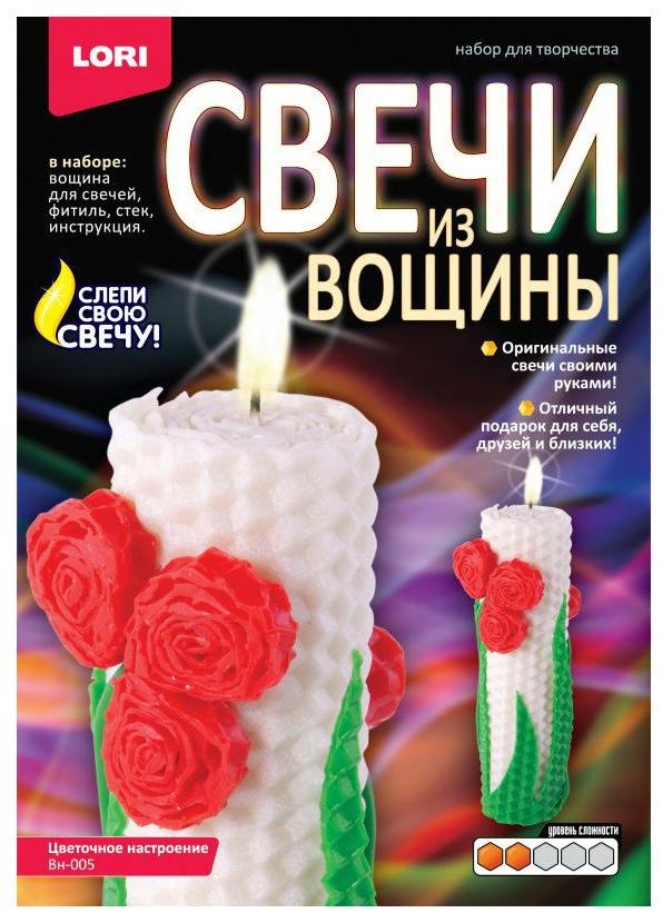 Купить Lori Набор для творчества свечи из вощины цветочное настроение Lori Вн-005, Рукоделие