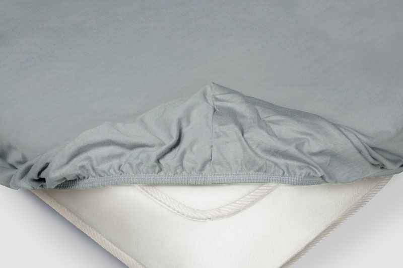 Простыня на резинке Ecotex Alura Цвет: Серый