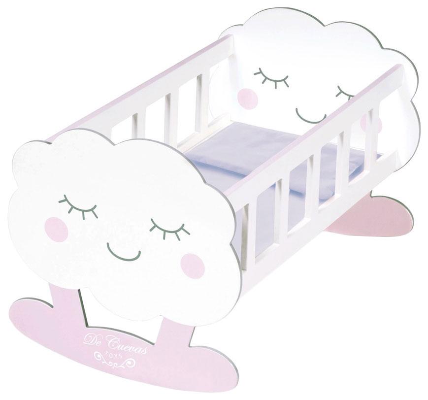 Кроватка-качалка для куклы Мартин , с аксессуарами, 49 см, DeCuevas, Мебель для кукол  - купить со скидкой
