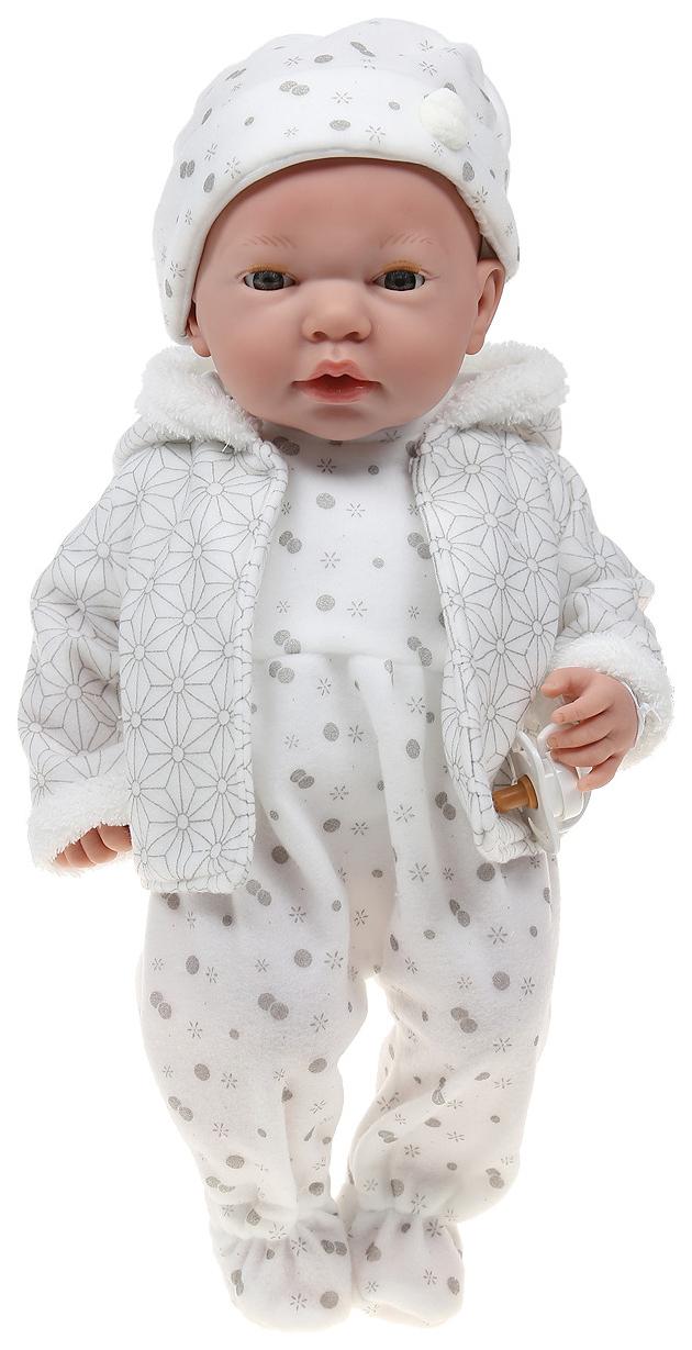 Купить Пупс Arias Elegance в одежде розовых тонах с узором, 38 см, арт. Т16350,