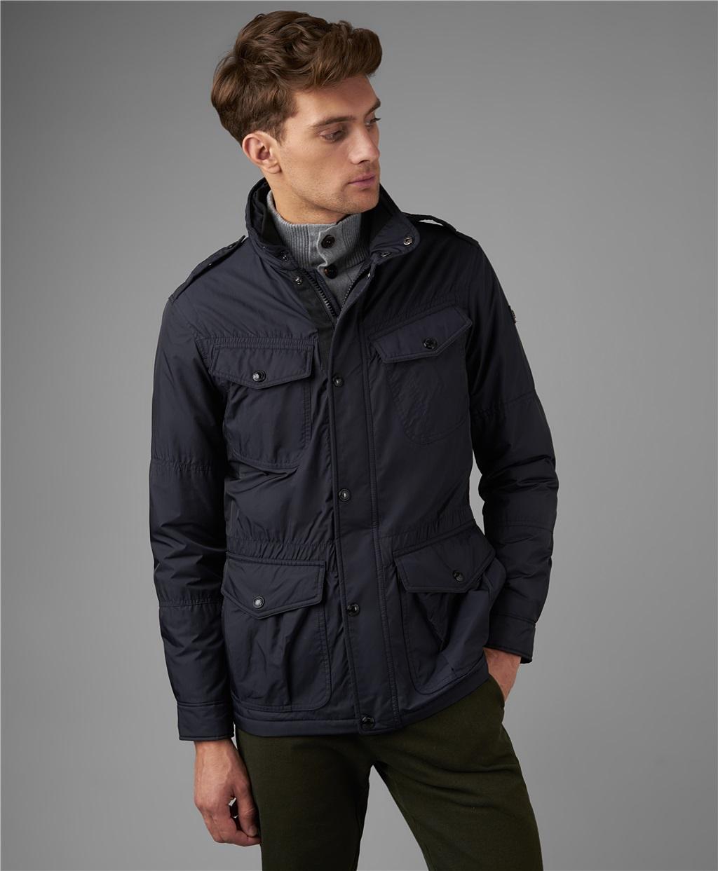 Куртка мужская HENDERSON JK-0273-1 синяя 52 RU, JK-0273-1
