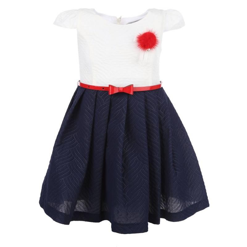 Купить Платье Ваниль-море UNONA D'ART, цв. белый, 122 р-р, Детские платья и сарафаны