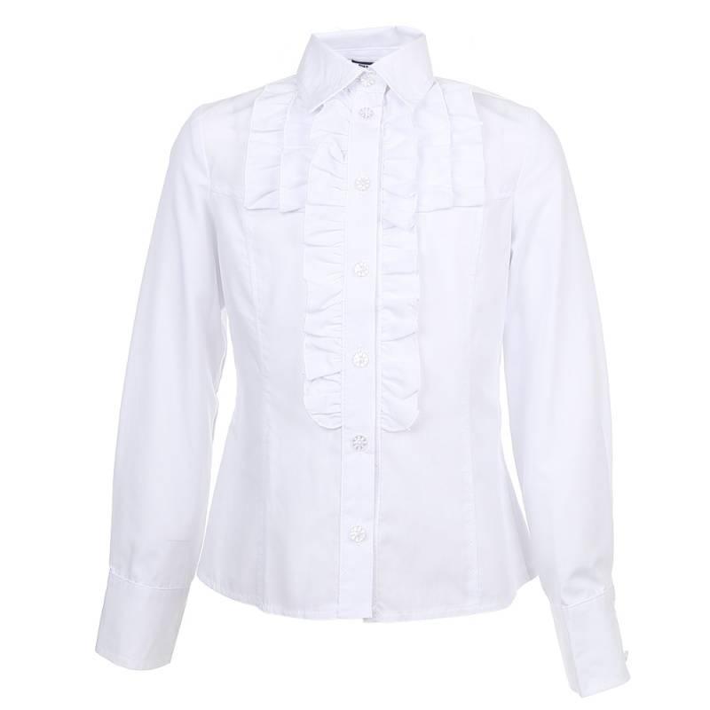 Купить ШФ-621, Блузка SkyLake, цв. белый, 36 р-р, Блузки для девочек