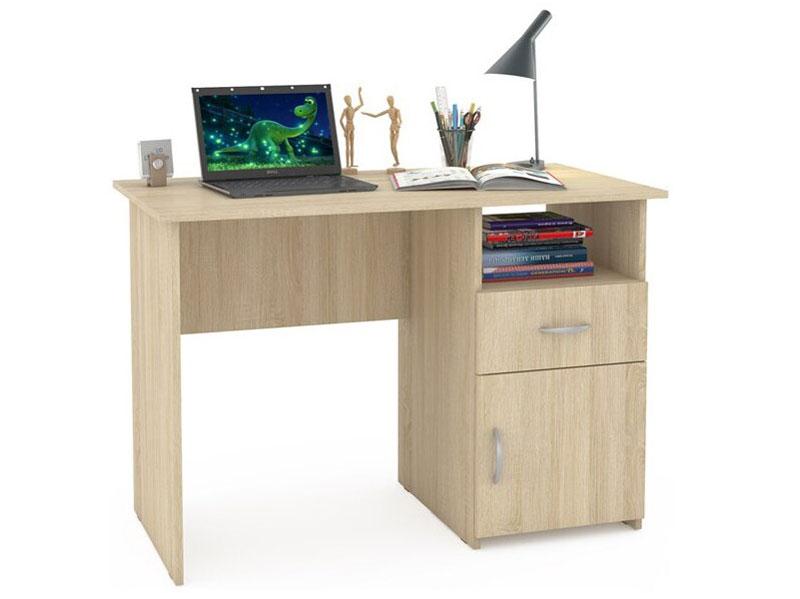 Компьютерный стол Mobi Комфорт 11 СК 110x57x76, дуб сонома