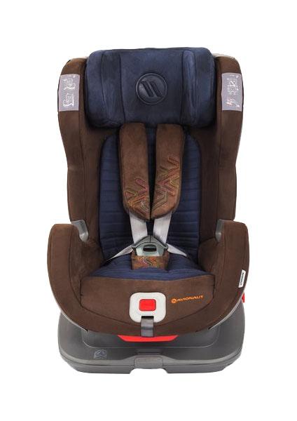 Детское автокресло Avionaut Glider Softy коричневый/синий 9-25 кг