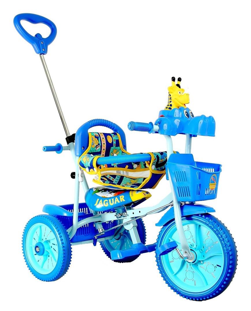 Детский велосипед Jaguar трехколесный синий