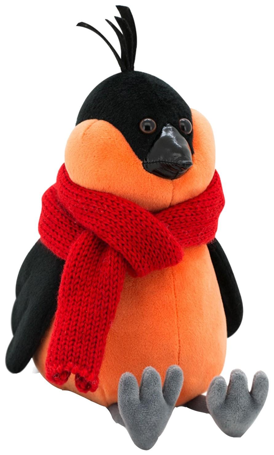 Купить Мягкая игрушка «Снегирь» в красном шарфе, 20 см Orange, Orange Toys, Мягкие игрушки птицы