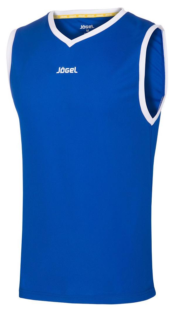 Майка баскетбольная JBT 1020 071, синий/белый, детская