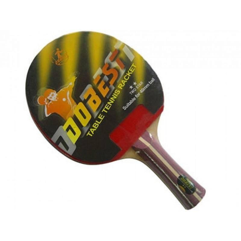 Ракетка для настольного тенниса DoBest BR01 2 **, Любительский BR01