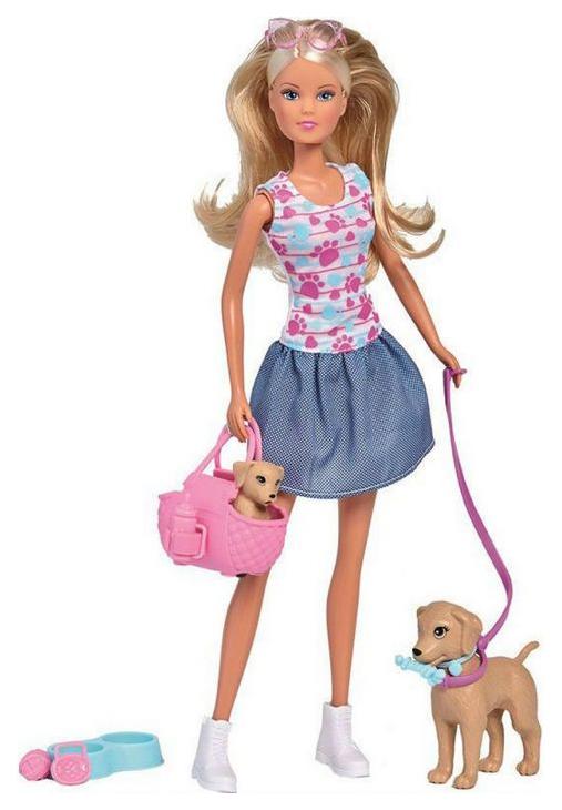 Кукла Simba Штеффи с питомцами