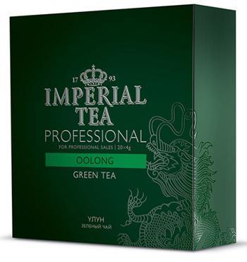 Чай зеленый среднелистовой улун Imperial  tea professional пакетированный