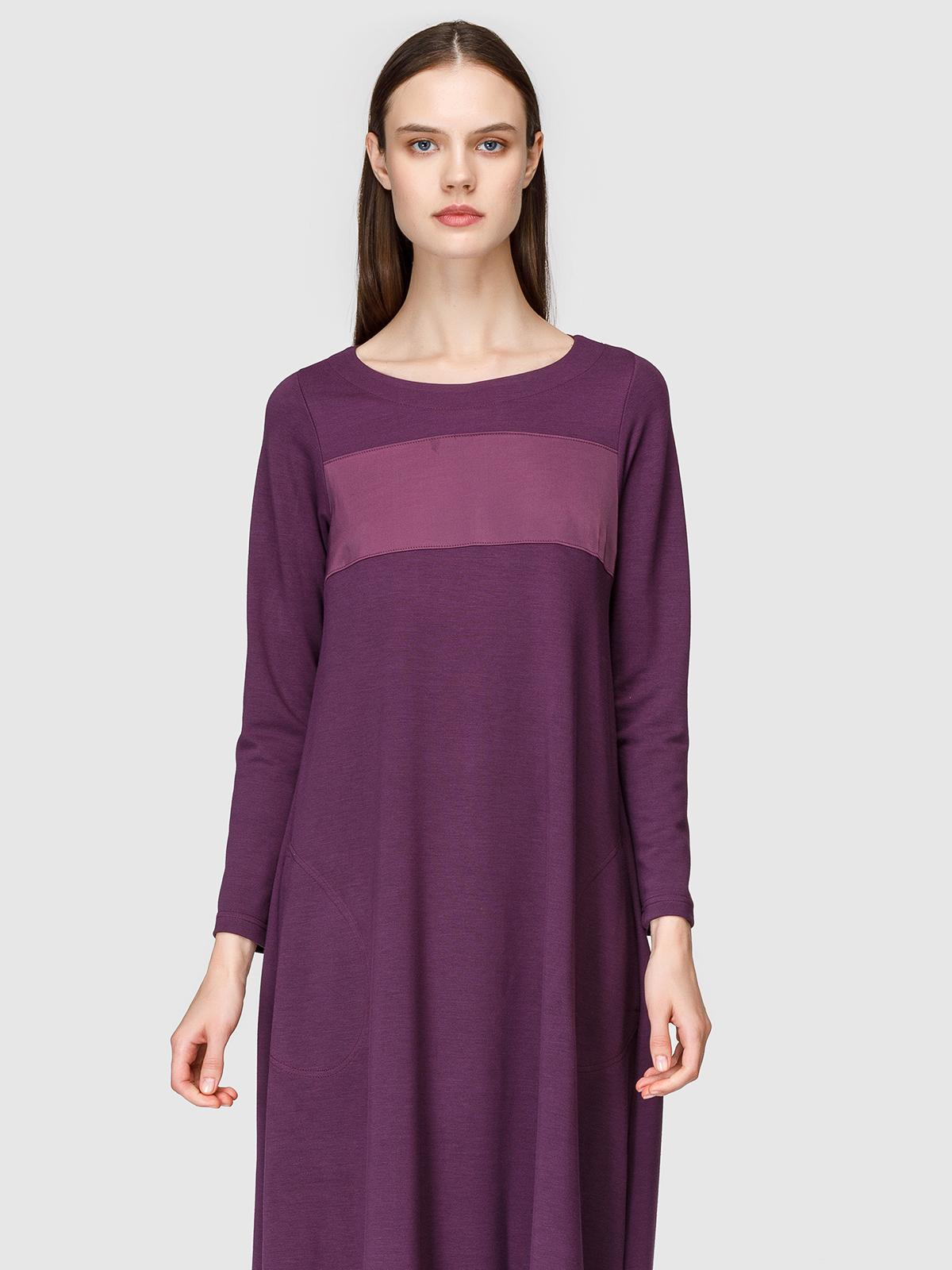 Платье женское Helmidge 8028 фиолетовое 20 UK фото