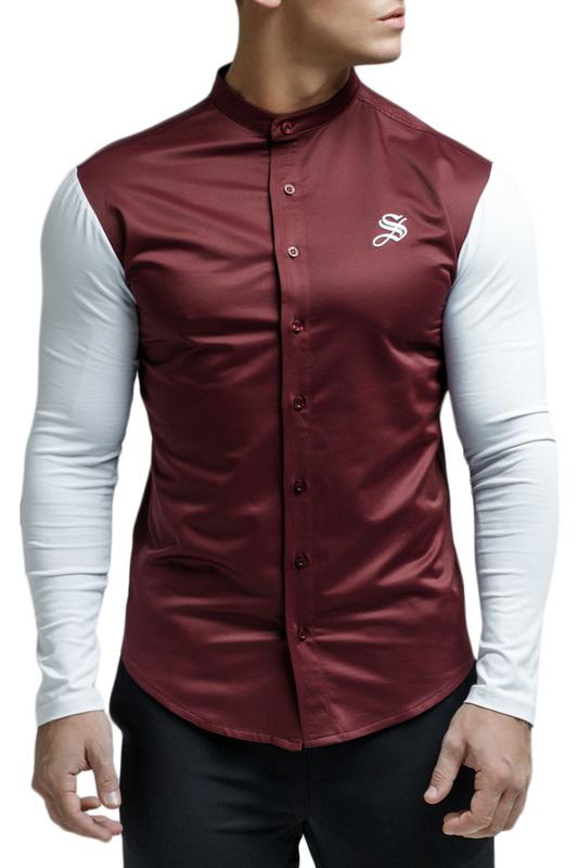 Рубашка мужская Sarman SC26 красная XS