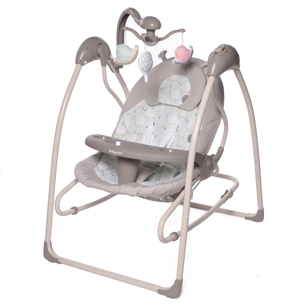 Электрокачели Babycare IcanFly 2в1 с адаптером