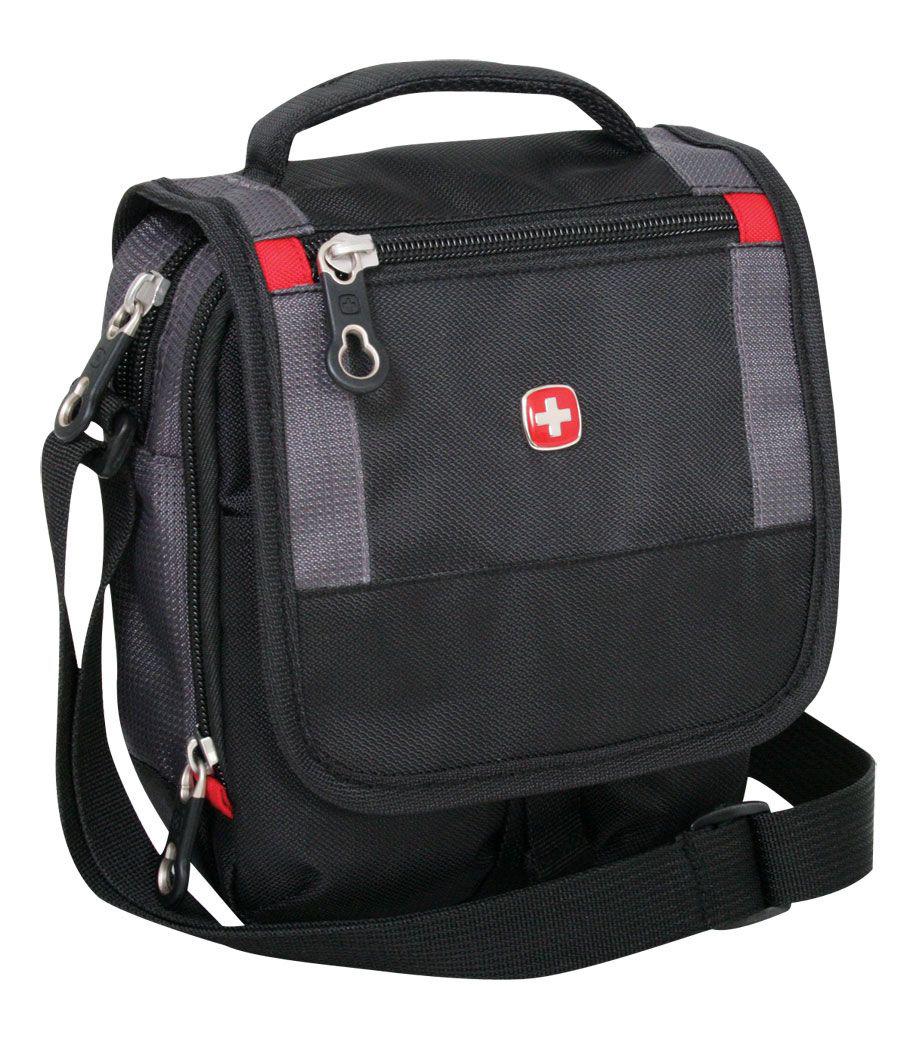 Сумка мужская Wenger Mini Boarding Bag черная фото