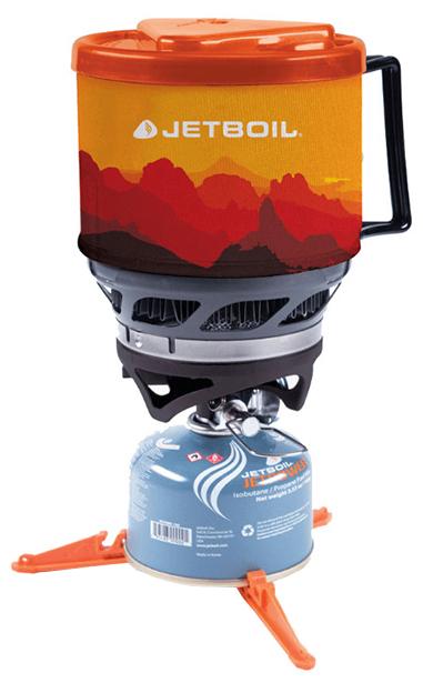 Туристическая горелка газовая JetBoil Minimo Cooking System