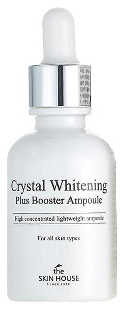 Сыворотка для лица The Skin House Crystal Whitening Plus Booster Ampoule 30 мл