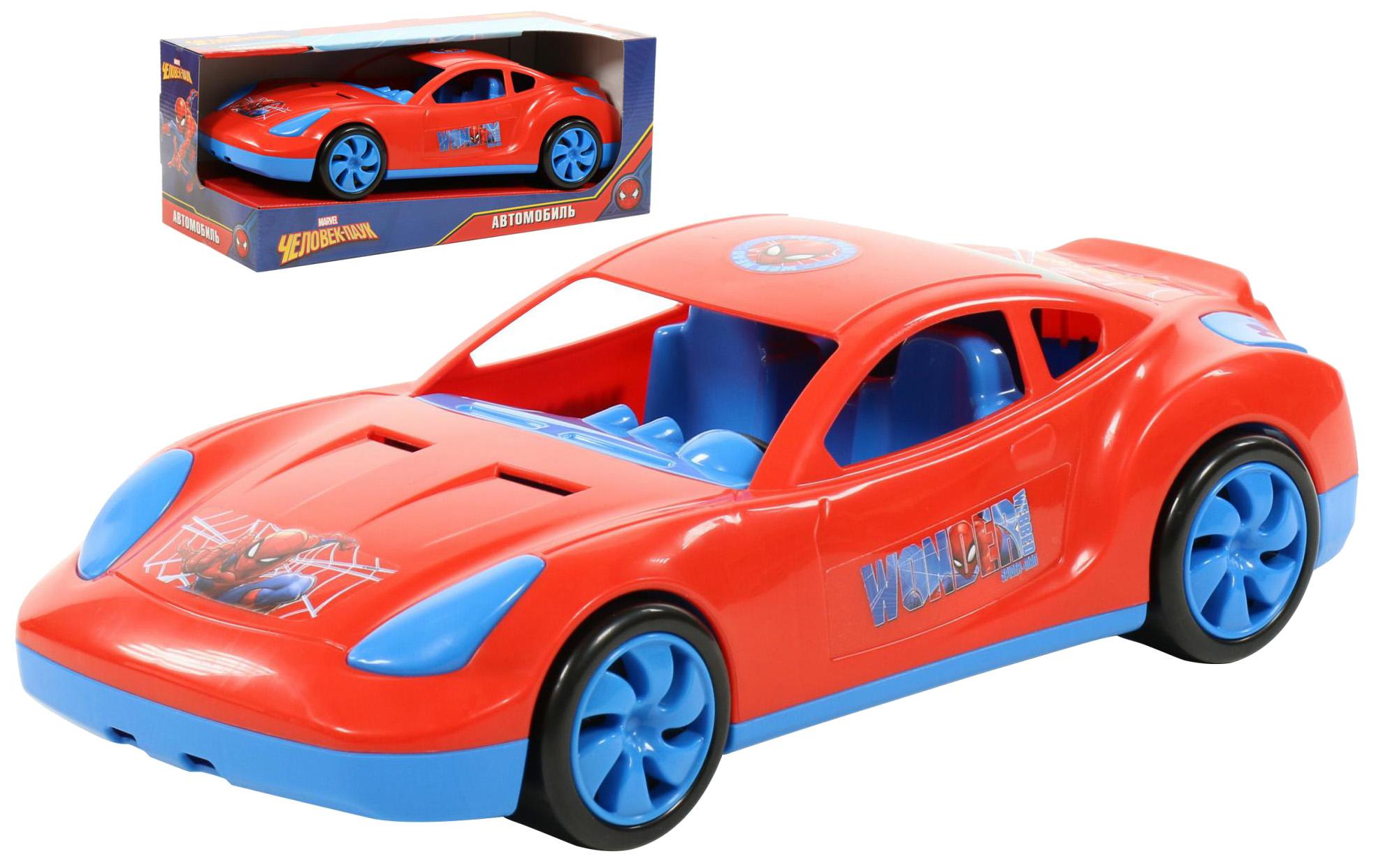 Купить Автомобиль Полесье Marvel Мстители, Человек-Паук, Игрушечные машинки