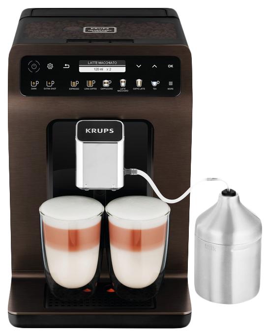 Кофемашина автоматическая Krups Evidence Plus EA894910