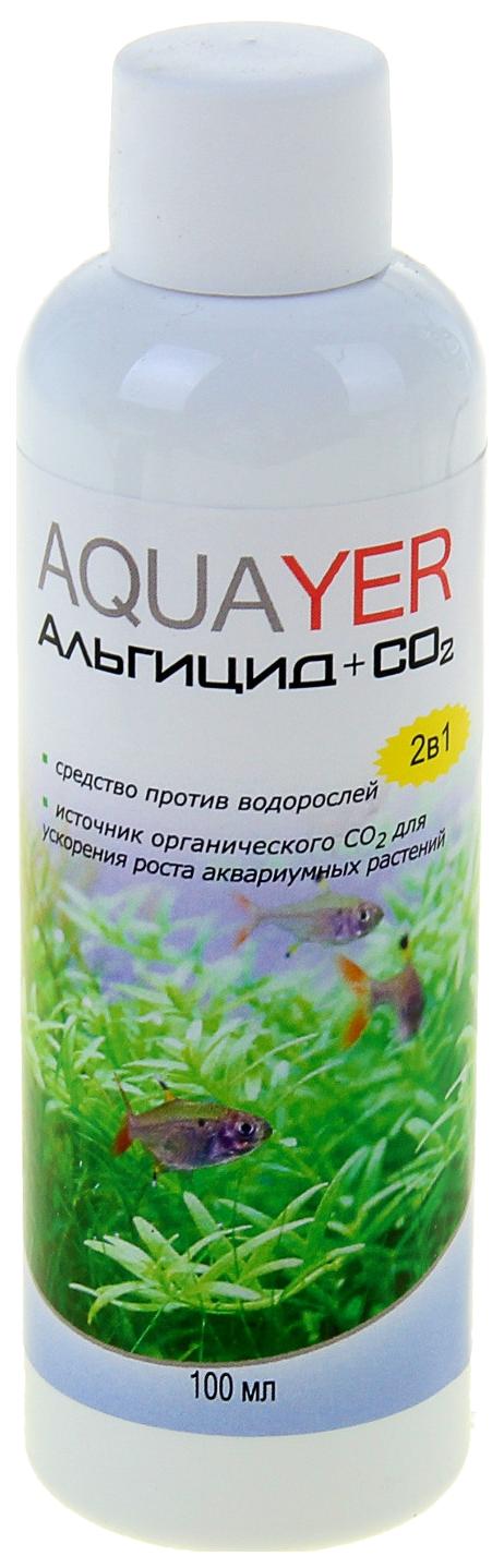 Удобрение для аквариумных растений Aquayer Альгицид+СО2