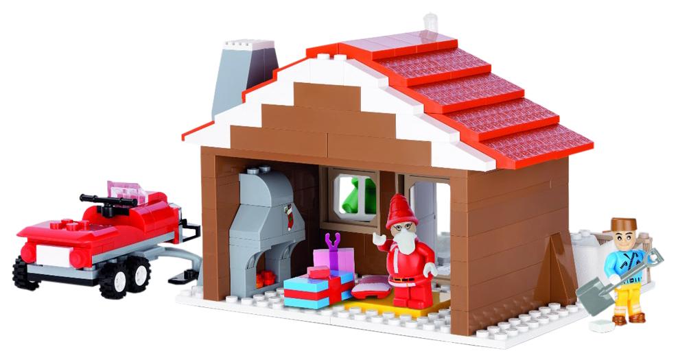 Купить Конструктор пластиковый COBI Святки (Рождество), Конструкторы пластмассовые