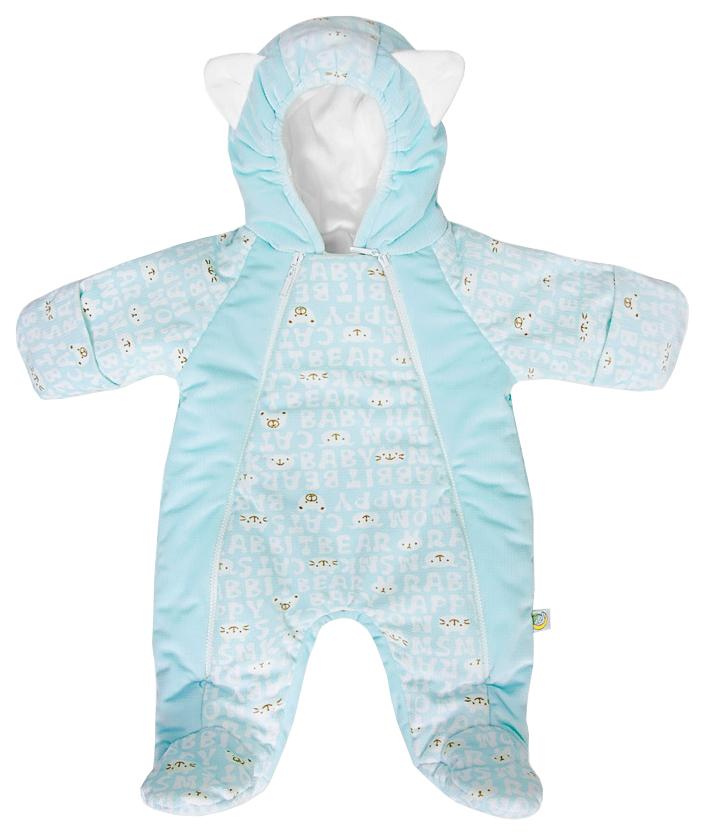 Купить МАРМЕЛАДИК, Комбинезон с капюшоном Мармеладик голубой Сонный Гномик, Сонный гномик, Трикотажные комбинезоны для новорожденных