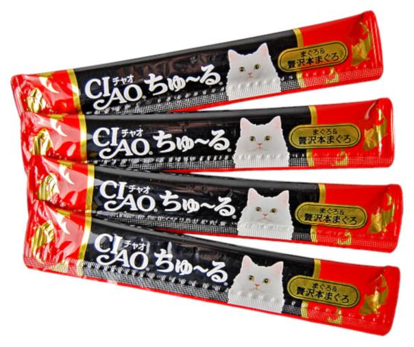 Лакомство для кошек Premium Pet Japan Мраморная вырезка с животика тунца 56 г SC-150 фото