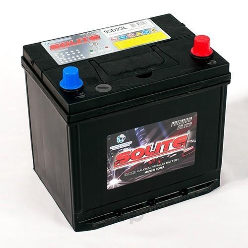 Аккумулятор автомобильный Solite Silver 95D23LBH 85А/ч 630А полярность обратная фото