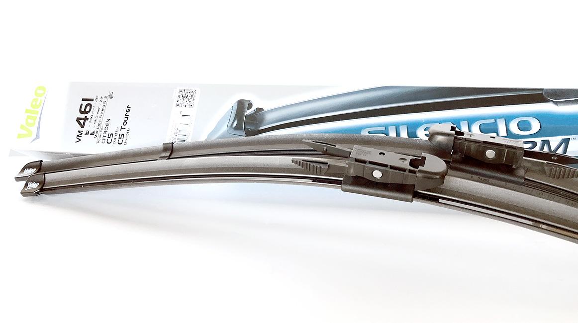 Комплект щеток стеклоочистителя Valeo 700мм+550мм (+) VM461