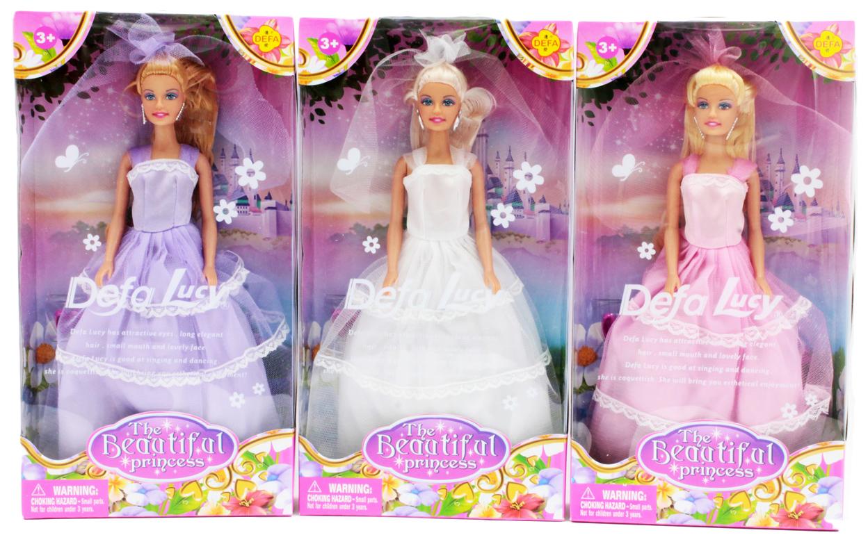 Купить Кукла Defa luсy невеста 8065, Defa Lucy, Классические куклы