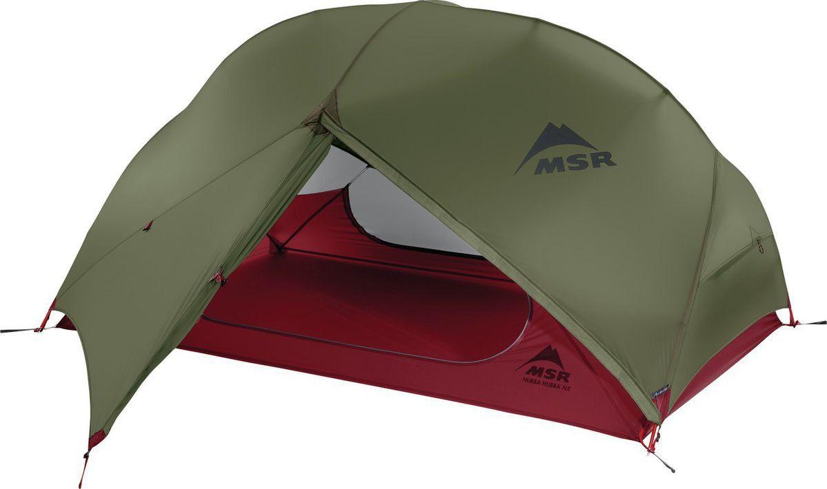 Палатка MSR Hubba Hubba NX зеленая двухместная