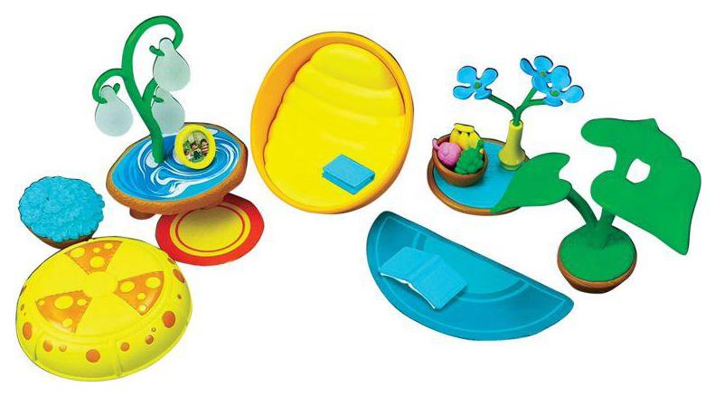Купить Игровой набор Monchhichi Аксессуары для гостиной комнаты (с голубым ковром),