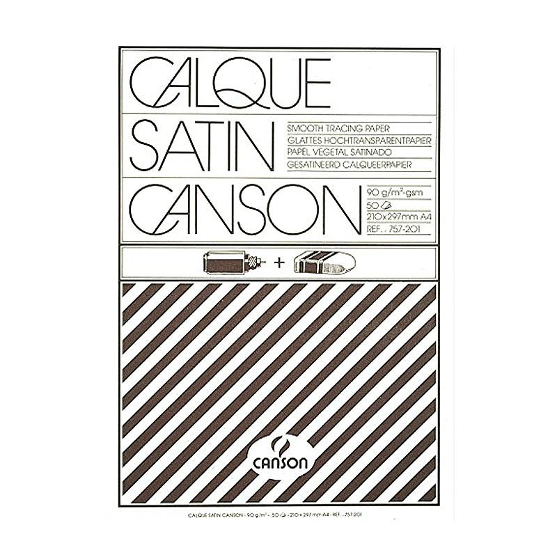 Canson Калька в склейке CANSON, 90г/м2, 21х30см (А4), 50 листов фото