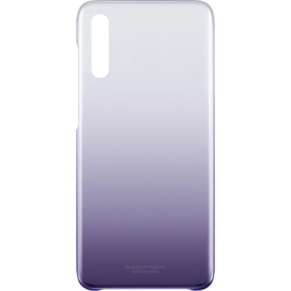 Чехол Samsung для A70 Purple/Transparent